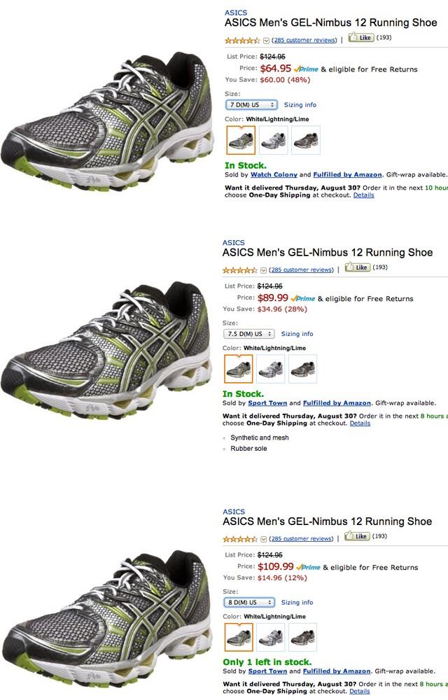 How Do Shoe Sizes Work On Amazon