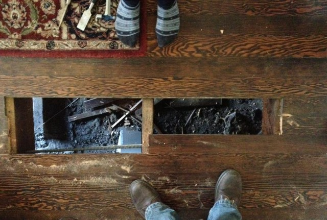 What To Do When The Floor Caves In - The Billfold