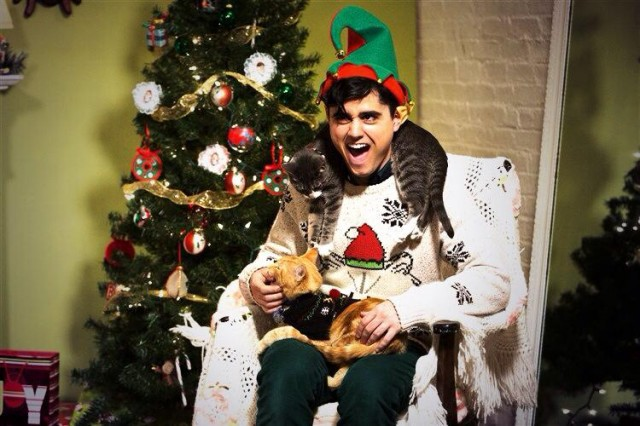 Overly Christmas.Talking With Andrew Rappo The Elf From Christmas Cats Tv