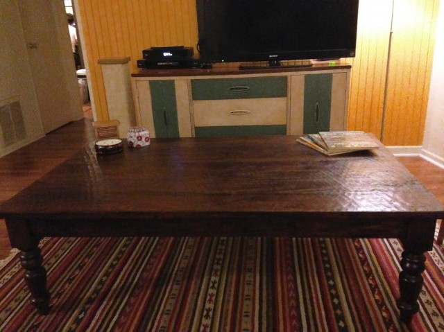 was it worth it? the craigslist coffee table - the billfold