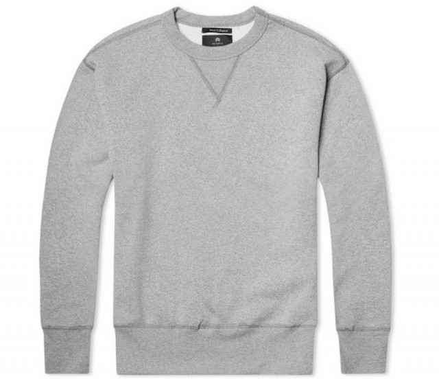 That One Gray Crewneck Sweatshirt - The Billfold