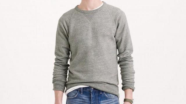 That One Gray Crewneck Sweatshirt - The Billfold