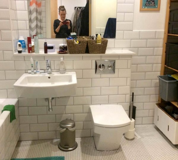 Bathroom Floor Leaking: Throwback Thursday: How To Fix A Leak In Your New Bathroom