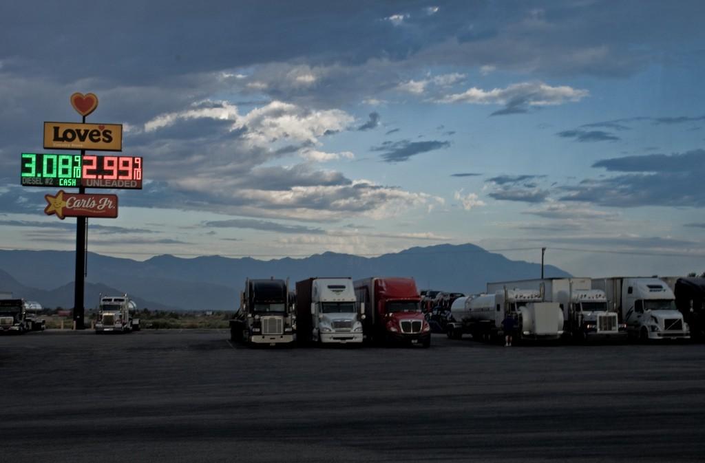 At the truckstop