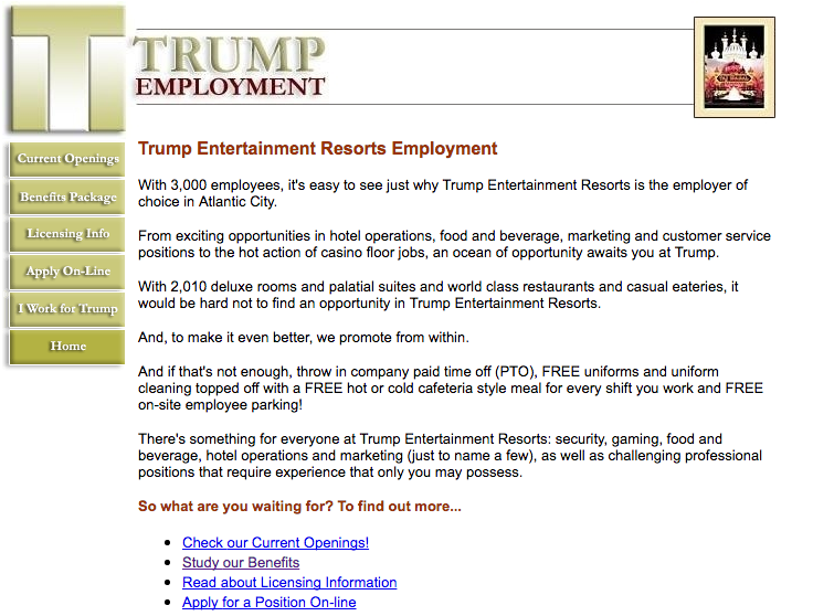 Does the trump organization actually offer parental leave the but the closest it comes to mentioning parental leave is listing pto which could just mean vacation thecheapjerseys Choice Image