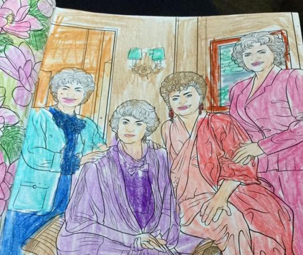 How a Golden Girls Coloring Book Changed My Life - The Billfold